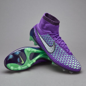 new arrival 87f7a e634b Nike Magista Obra Hyper Grape Metallic Silver Fierce Purple Green